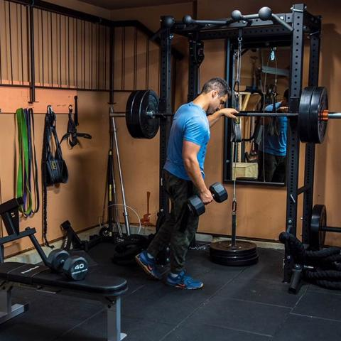 The future of home gyms is (quite literally) strong